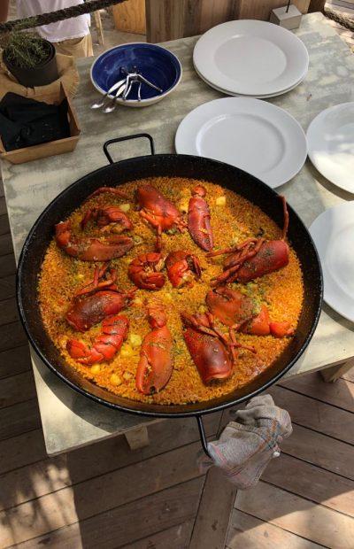 Kreeft Paella